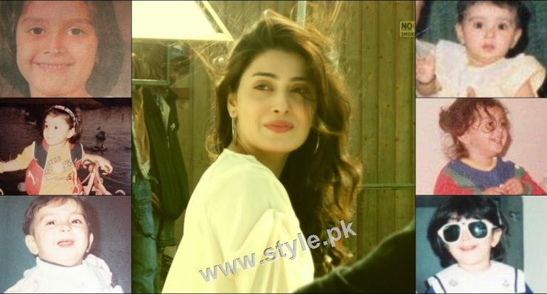 See Childhood pictures of Ayeza Khan