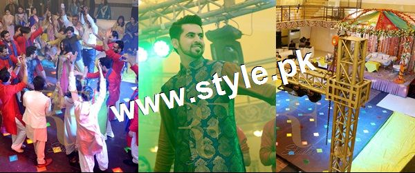 See Complete Wedding pictures of Anchor Mukkaram Kaleem