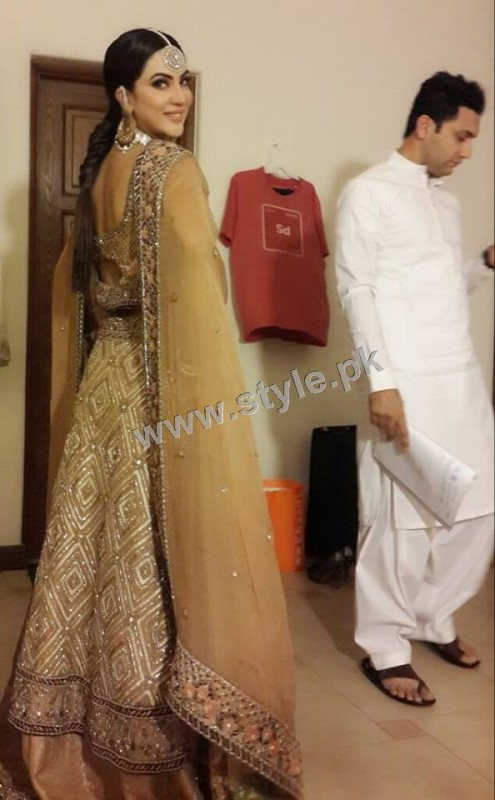 Fiza Ali on shooting of her upcoming drama (11)