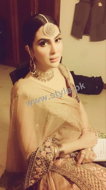 Fiza Ali on shooting of her upcoming drama (6)