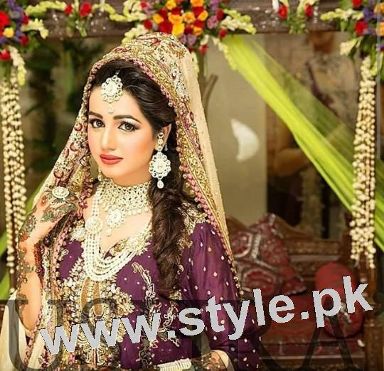 See Latest looks of Anum Fayyaz for Bushra's Salon