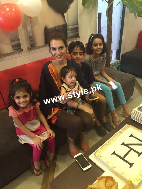 Nadia Hussain Celebrated first anniversary of Nadia Hussain Salon (3)