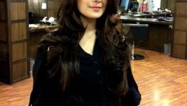 See New Look of Ayeza Khan with New haircut