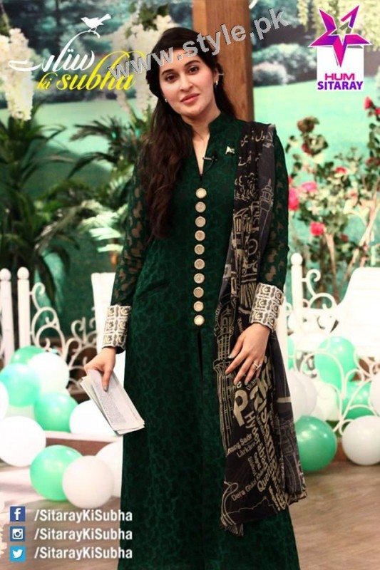 Pakistani Celebrities on Independence Day 2015 (11)