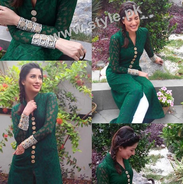 Pakistani Celebrities on Independence Day 2015 (3)