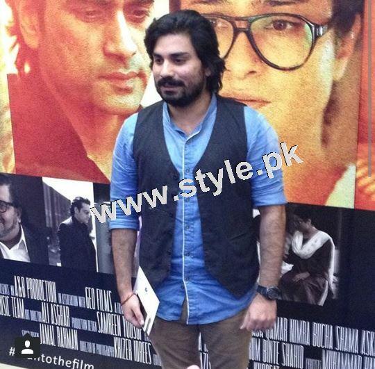 Pakistani Celebrities on the red carpet of MANTO 7