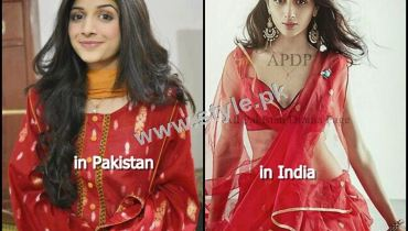 See Pakistani Celebrities who crossed their limits for fame