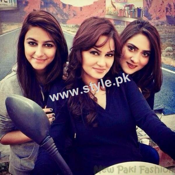 Pakistani Celebrities with their kids 3