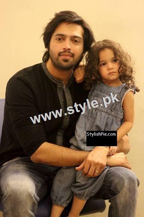 Pakistani Celebrities with their kids 5