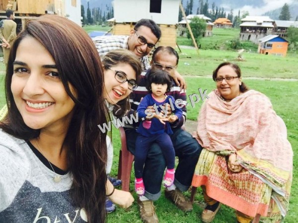 Rabab Hashim is enjoying vacations with Family  (12)