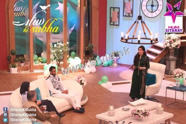 Shaista Lodhi's first appearance as a host after her arrest warrants (6)