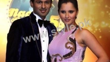 See Shoaib Malik and Sania Mirza make perfect dance movements