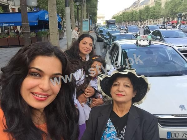 The controversy Queen Meera is enjoying in Paris right after her arrest warrants