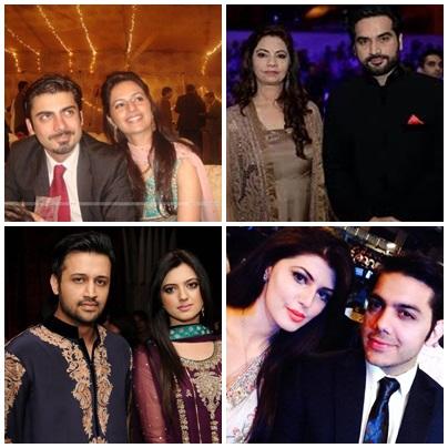 Top 5 Famous Wives 2015 Of Pakistani Actors