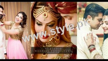 See Wedding Pictures of Famous Pakistani Celebrities