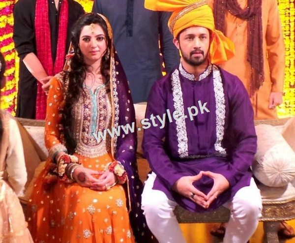 Wedding Pictures of famous Pakistani Singers 4