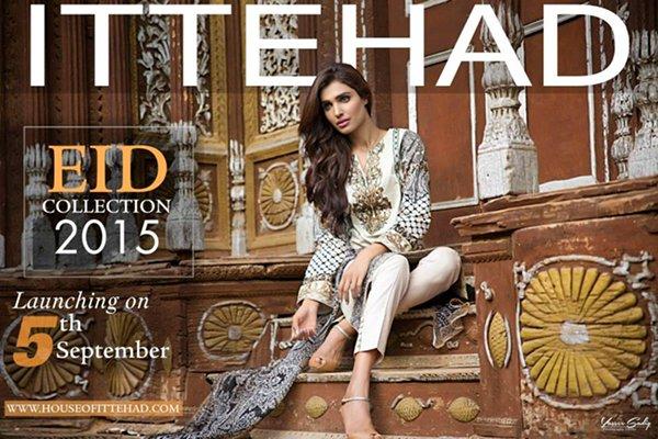 Ittehad Textiles Eid Ul Azha Collection 2015 For Women009