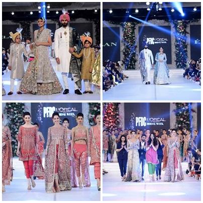 PFDC L'Oréal Paris Bridal Week 2015 Day1 Review