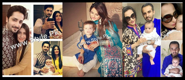 See Pakistani Celebrities on Eid ul Adha 2015