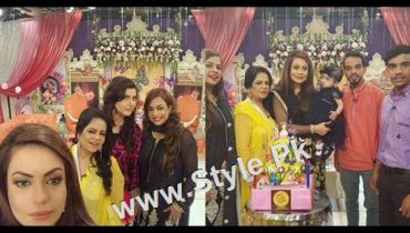 See Sadia Imam Celebrated her daughter's birthday in Good Morning Pakistan