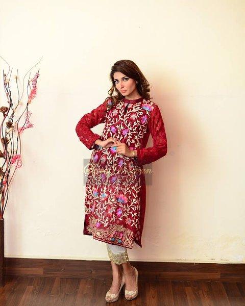 Vibgyor By Syra Rezvan Eid ul Azha Collection 2015 For Women0011
