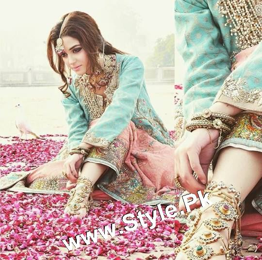 Elegant Photoshoot of Maya Ali for Samreen Vance House of Jewels (9)