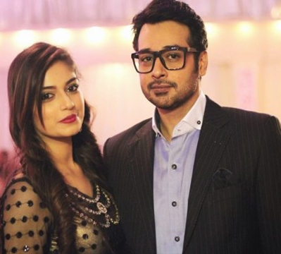 Faisal Qureshi with daughter Hania Qureshi