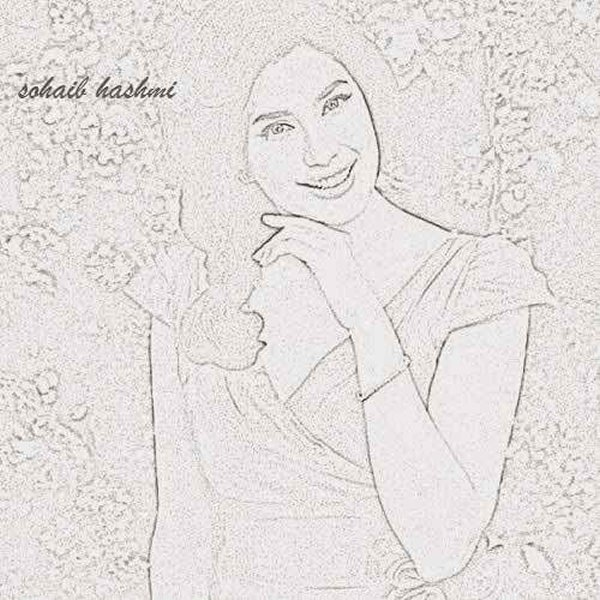 Pakistani Celebrities And Their Handmade Sketches001