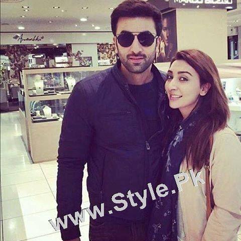 Pakistani Superstars with Bollywood Superstars (5)
