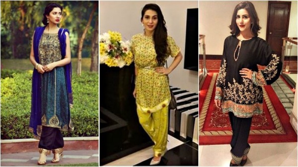 See Trend of Shalwar is officially back