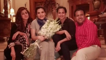 actress resham birthday party pictures