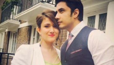 ali zafar and wife ayesha
