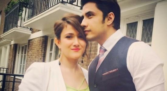 ali zafar and wife ayesha