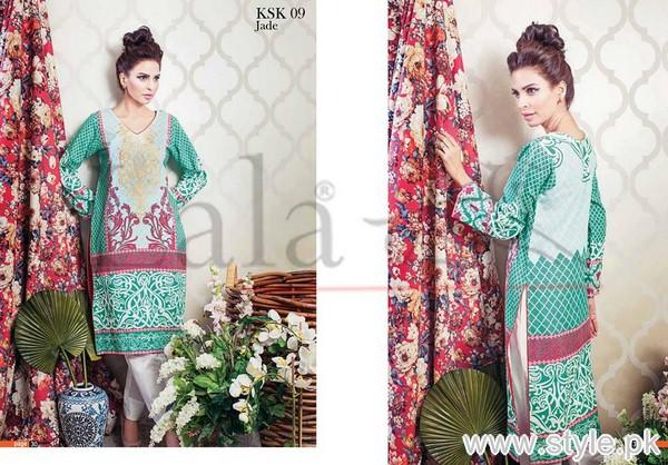 KESA Winter Kurtis 2015 by Lala Textiles 3