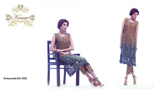 Kanav Party Wear Collection 2015 For Women002