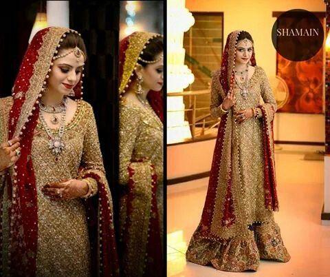 Maron Latest Bridal Dresses