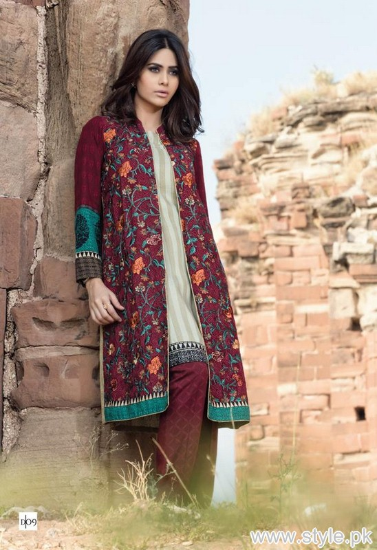 Maria B Linen Collection 2015-2016 For Winter 8