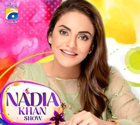 Nadia Khan talked about herself in her first show on GEO TV (2)