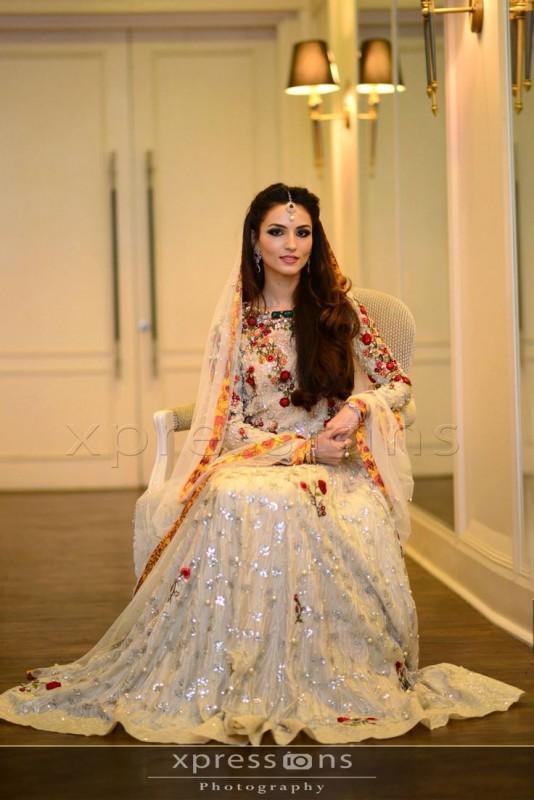 Pakistani Barat Dresses 2016- white