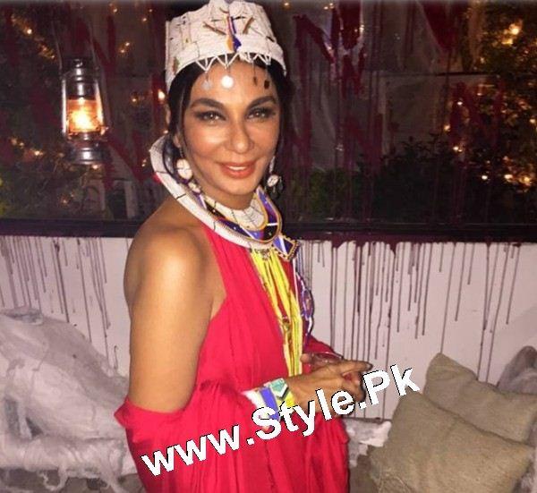 Pakistani Celebrities who looked ugly on Halloween Party 2015 (5)