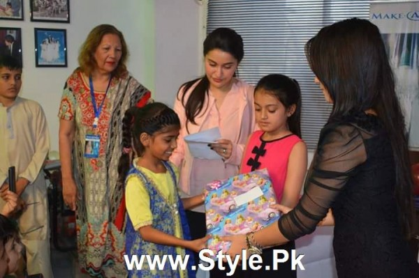 See Shaista Lodhi Celebrated her birthday with Thalassemia patients