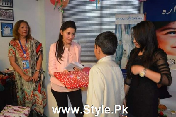 Shaista Lodhi Celebrated her birthday with Thalassemia patients (6)