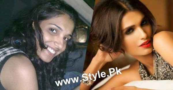 Top 13 Pakistani Celebrities with and without Makeup (13)