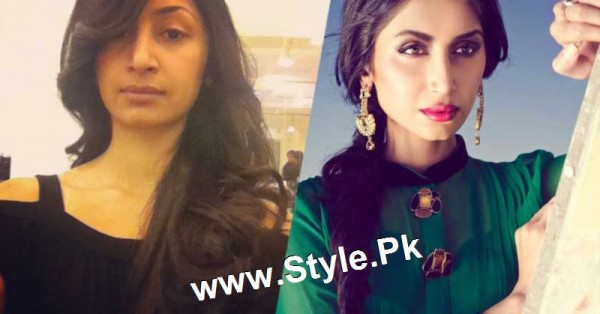 Top 13 Pakistani Celebrities with and without Makeup (15)