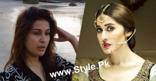 Top 13 Pakistani Celebrities with and without Makeup (5)