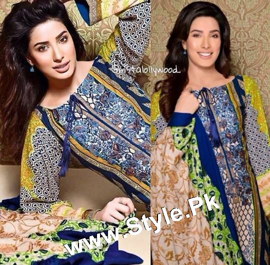 Which Celebrity looked best in Gul Ahmed Winter Collection 2015 (9)