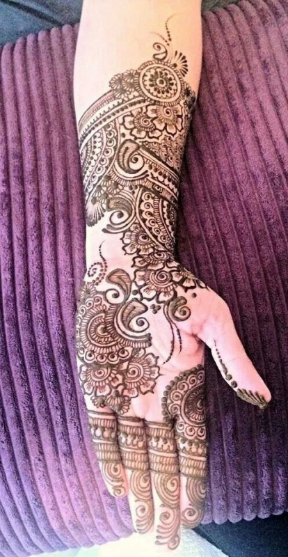 arabic mehndi design 2016