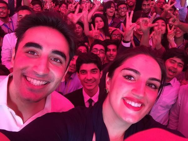 bilawal bhutto selfie