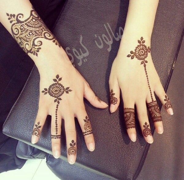 mehndi design for kid-decent