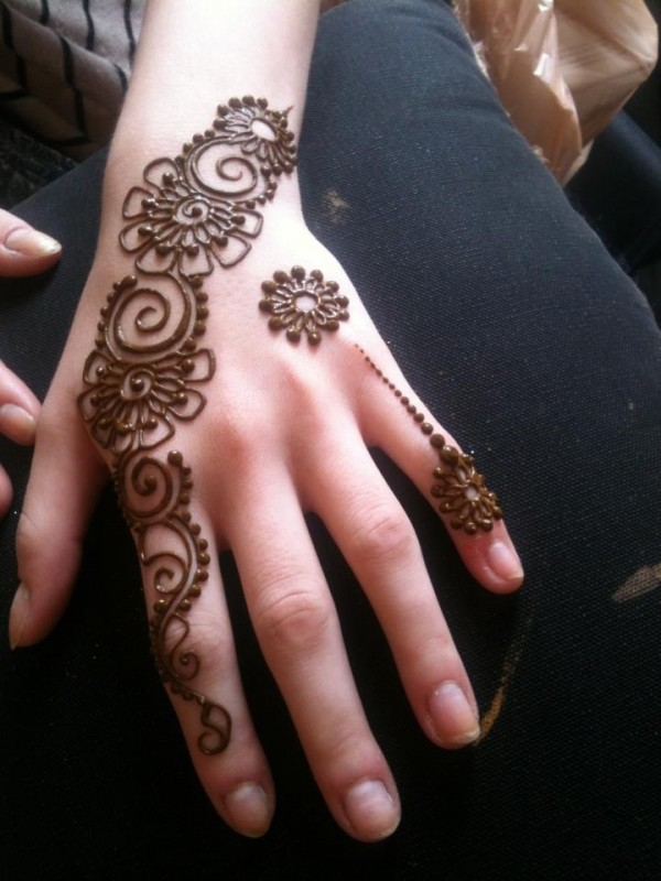 mehndi designs for kids 2016